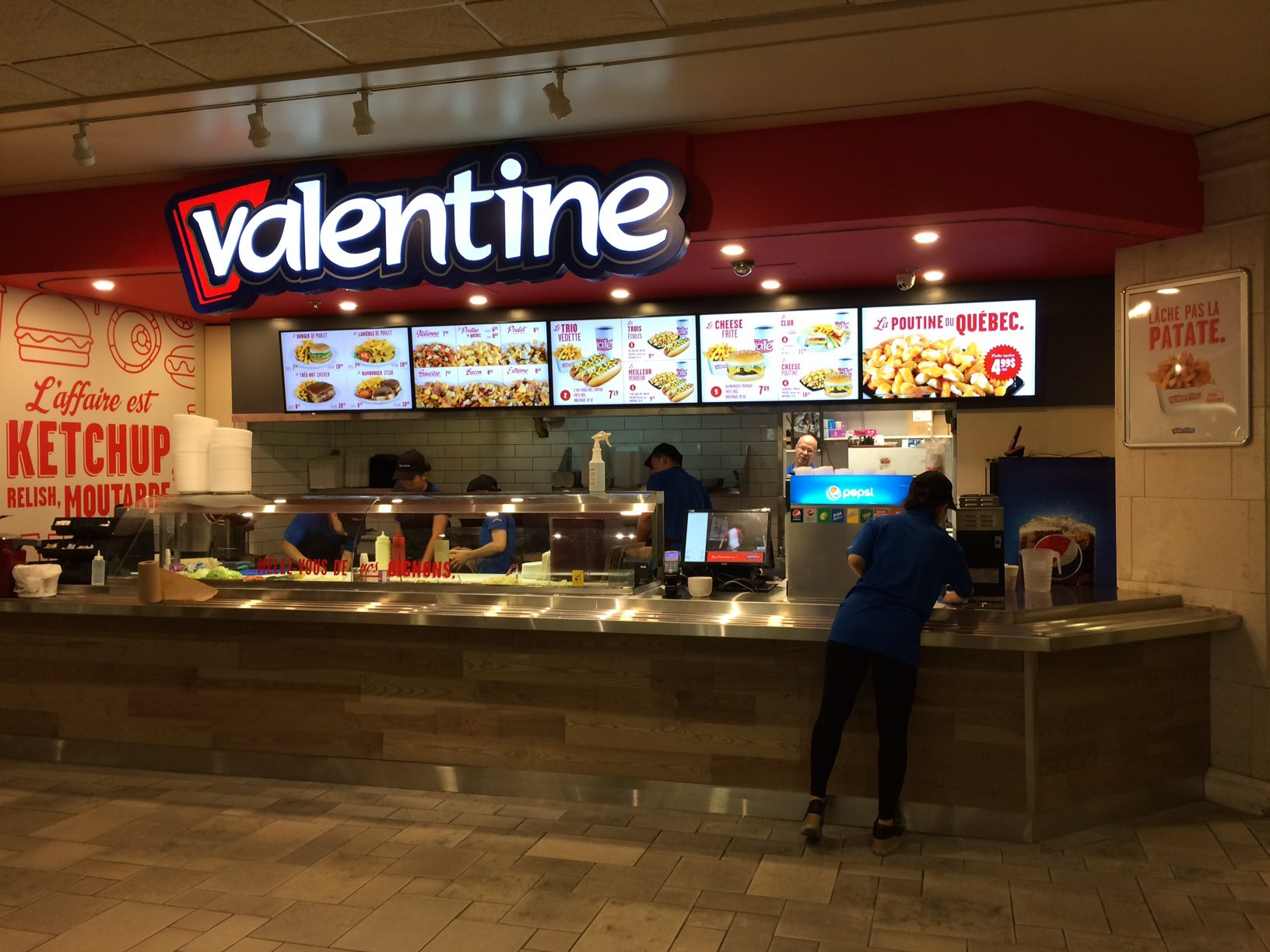 Valentien restaurant
