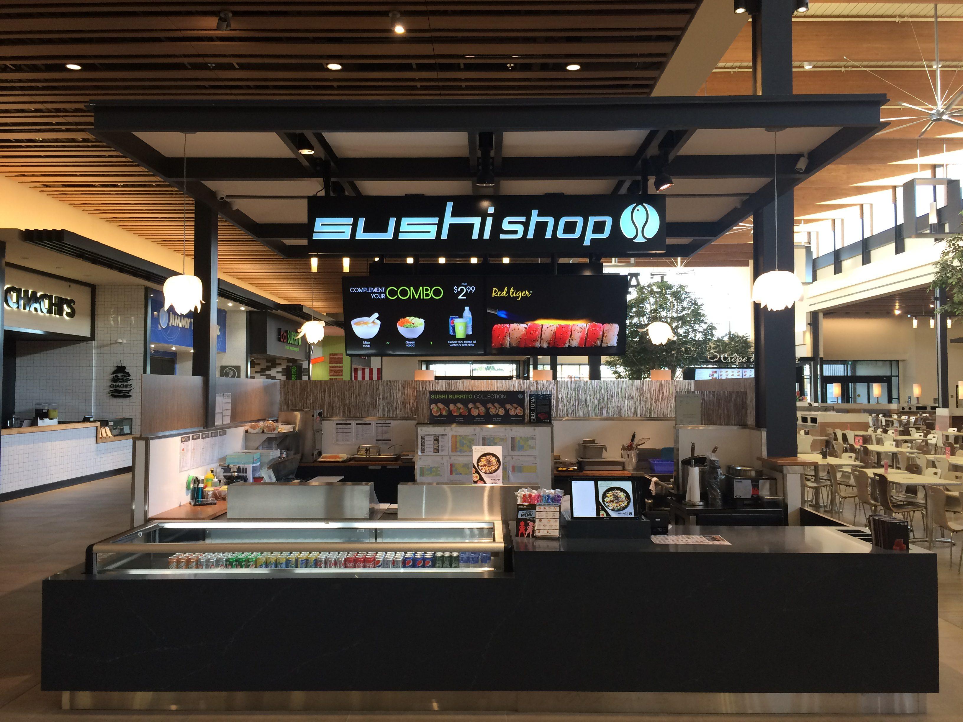 Nouvelle boutique sushi shop à winnipeg manitoba mty group